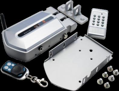 Electrico distancia mando abrepuertas con a