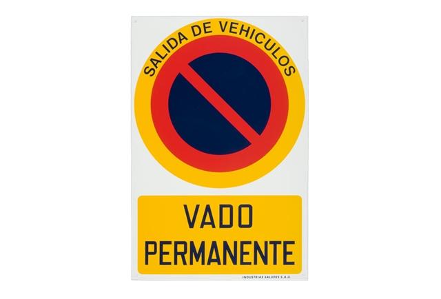 Placa Vado Valencia